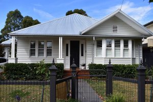 house white weatherboard